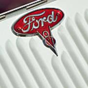 1934 Ford Emblem Poster