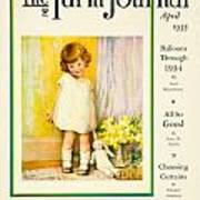 1935 - The National Farm Journal Magazine Cover April - Color Poster