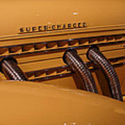 1935 Auburn Supercharged  Poster