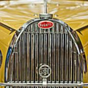 1935 Bugatti Type 57 Roadster Grille Poster by Jill Reger