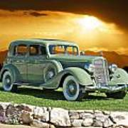 1935 Buick 61 Sedan Poster