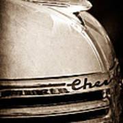1935 Chevrolet Hood Ornament - Emblem Poster