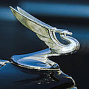 1935 Chevrolet Sedan Hood Ornament Poster by Jill Reger