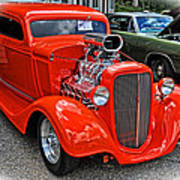 1935 Chevy Coupe Poster
