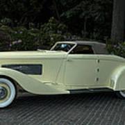 1935 Duesenberg J Roadster  Poster