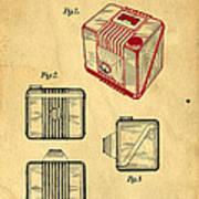 1935 Kodak Camera Casing Patent Poster