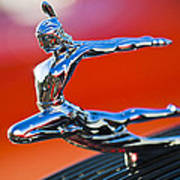 1935 Pontiac Sedan Hood Ornament 2 Poster