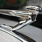 1936 Auburn Super Charger Flying Lady Hood Ornament Poster