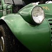 1936 Funeral Truck Headlight Poster