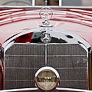 1936 Mercedes-benz 540k Mayfair Special Roadster Grille Poster