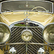 1936 Mercedes Benz Poster