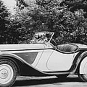 1937 Bmw Convertible Poster
