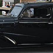 1937 Chevy Flameon Poster