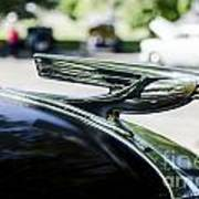 1937 Chevy Hood Ornament Poster