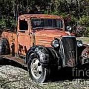 1937 Chevy Wrecker Poster