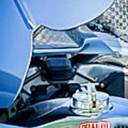 1937 Delahaye 115a Engine Poster