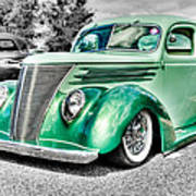1937 Ford Coupe Poster by Phil 'motography' Clark