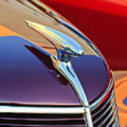 1937 Ford Hood Ornament 2 Poster