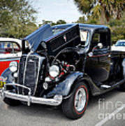 1937 Ford Pick Up Poster