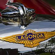 1937 Lagonda Poster