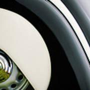 1938 Bmw 327 - 8 Cabriolet Rear Wheel Emblem -2668c Poster