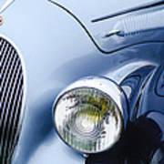1938 Talbot-lago 150c Ss Figoni And Falaschi Cabriolet Headlight - Emblem Poster