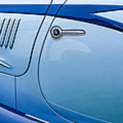 1938 Talbot-lago 150c Ss Figoni And Falaschi Cabriolet Side Door Handle Poster