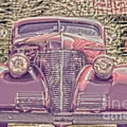 1939 Chevy Immenent Front Color Poster