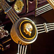 1939 Ford Standard Woody Steering Wheel Poster