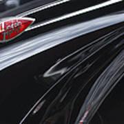 1939 Lincoln Zephyr Emblem Poster