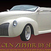 1939 Lincoln Zephyr Poster Poster