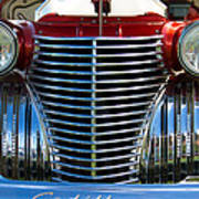 1940 Cadillac Coupe Front View Poster