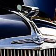 1940 Chevy Coupe Hood Ornament Poster
