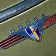 1940 Dodge Nameplate Poster