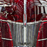 1940 Ford V8 Grill  Poster