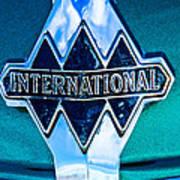 1940 International Emblem Poster
