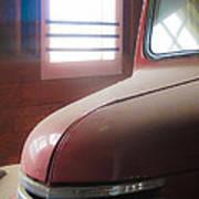 1940s Era Red Chevrolet Truck  Poster