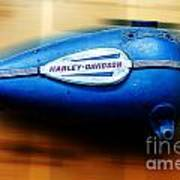 1940s Harley Tank Poster