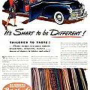 1941 - Chrysler Convertible Automobile Advertisement - Color Poster