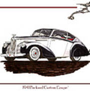 Packard Custom Coupe 120 Poster