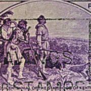 1942 Kentucky Statehood Stamp Poster