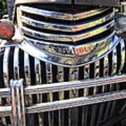 1946 Chevrolet Truck Chrome Grill Poster