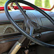 1946 Chevy Dash Poster