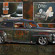 1946 Ford Deluxe Poster