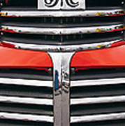1946 Gmc Truck Grill Poster