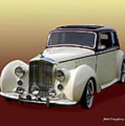 1947 Bentley M K  5   G T X  Poster
