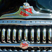 1947 Buick Sedanette Grille Poster