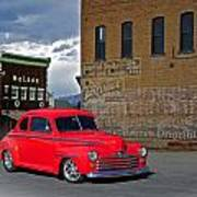 1947 Ford Coupe Poster