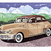 1947 Nash Statesman Poster by Jack Pumphrey
