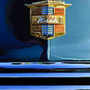 1947 Nash Surburban Hood Ornament Poster